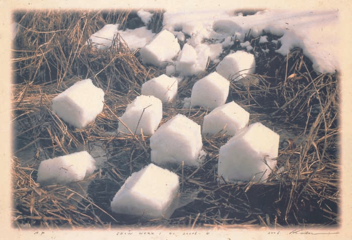 Title of Work:Snow Work: No. 2006-4